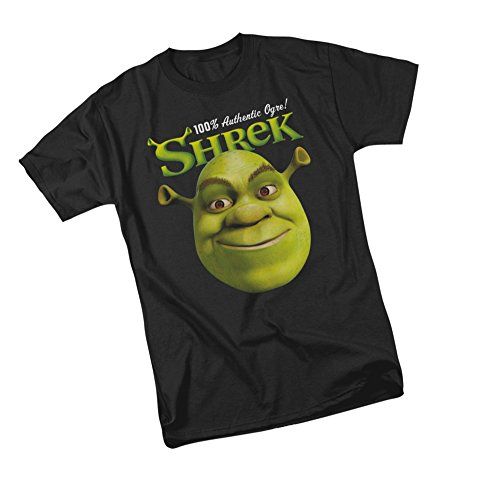 100% Authentic Ogre! -- Shrek Adult T-Shirt, Large