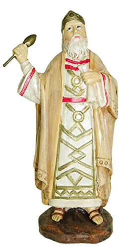 Figuras Belén: Rey Herodes de la Colección Martino Landi para nacimiento de 10 cm