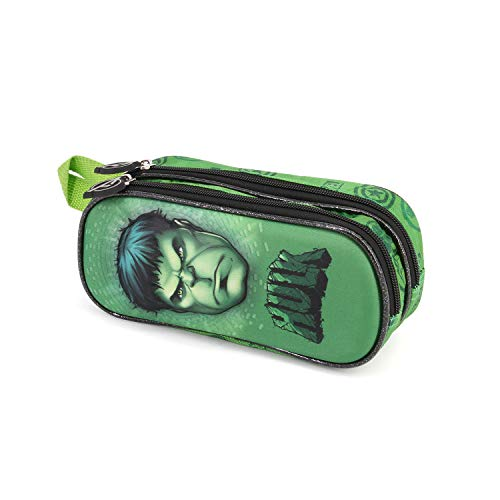 Hulk Rage-Estuche Portatodo 3D Doble