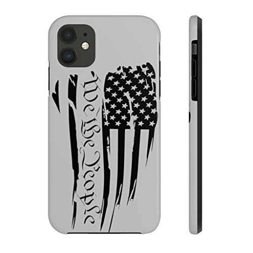 We The People American Flag Patriotic Case Mate Tough Phone Cases (Made in USA) Decal Car Sticker,Vinyl Window Decals for Bottle Laptop Cars Wall Art Quote Funny Stickers