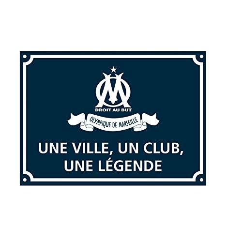 OLYMPIQUE DE MARSEILLE - Plaque DE Rue Droit au But