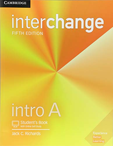 Interchange Intro a - Student´s Book With Online Self-Study - 05 Edition
