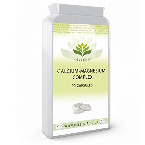 Calcium-Magnesium Complex - 90 Capsules (with Vitamin D)