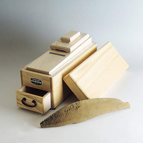特選 鰹節削り器 (弁次郎特大) 鉋台傾斜式 鰹節 本枯れ節 けずり器 川本屋茶舗 (削り器&鰹節1本セット)