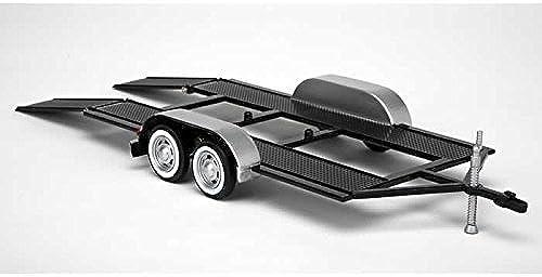 Compra calidad 100% autentica 1 24 Tandem Car Trailer Trailer Trailer Plastic Model Kit with Metal Body by Testor Corp.  barato y de alta calidad