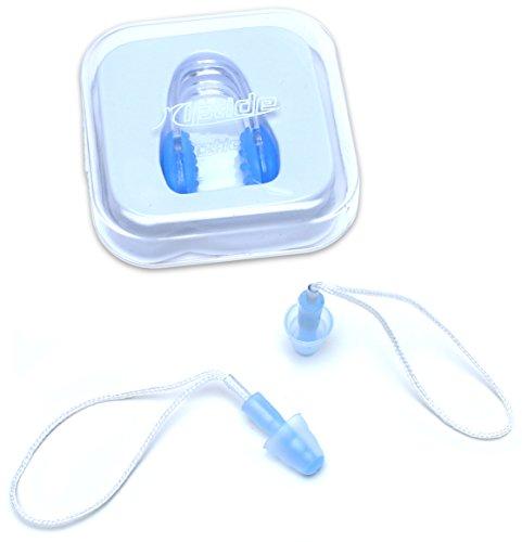 riptide Ergonomische Nasenklammer und Ohrenstöpsel für Schwimmen, Tauchen oder Schnorcheln | Inklusive praktischer Aufbewahrungsbox