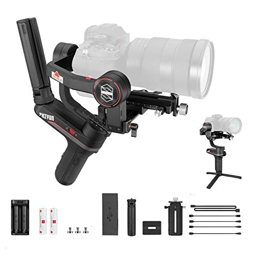 Zhiyun Weebill S Compact Gimbal Stabilizer for DSLR & Mirrorless Camera Sony A7M3 A7III A7R3 with 24-70mm GM Len Nikon Z6 Z7 Panasonic GH5 GH5s Canon 5D4 5D3 EOS R BMPCC 4K 3-Axis Handheld Weebills