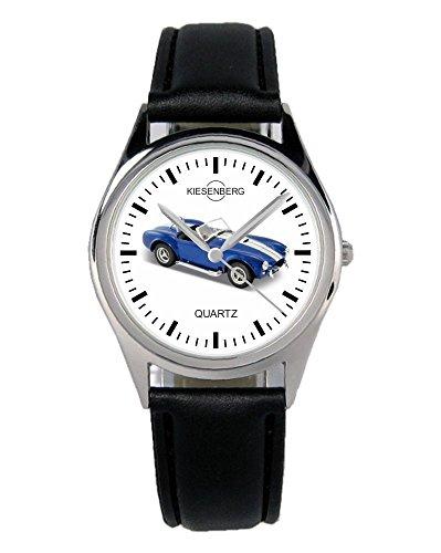 Geschenk für Shelby Cobra 427 Blau Oldtimer Fans Fahrer Kiesenberg Uhr B-1912