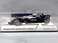 ミニカー MINICHAMPS 1/43scale AT&T Williams Toyota Show Car 2008 N.Rosberg