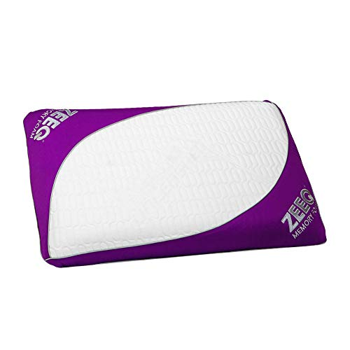 REM-Fit Memory Foam Smart Pillow - Stream Music, Track Sleep, Automate Your Mornings
