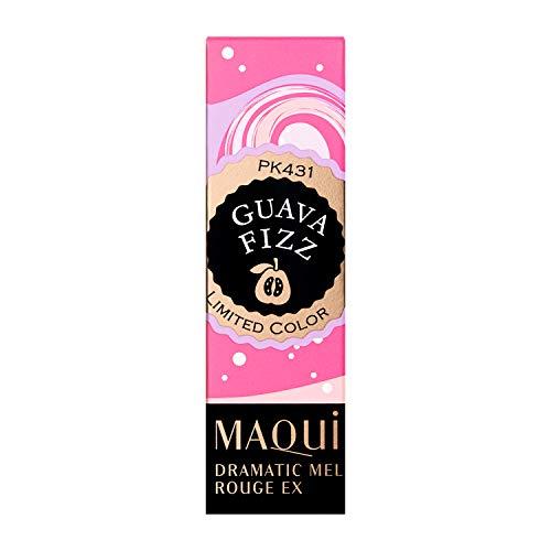 MAQUILLAGE(マキアージュ)ドラマティックルージュEXスパークリングフルーツカラー口紅華やかで女らしさを誘う香りPK431グアバフィズ3.9g