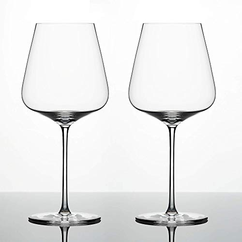 Zalto Denk'Art Bordeaux Wine Glass Hand-Blown Crystal | Boxed Set of 2