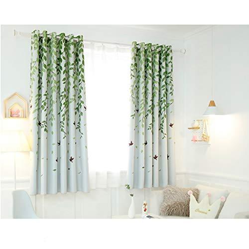 TD X95414 Vorhang, Isolation Kurzer Vorhang Schattierung Moderne Einfache Wohnzimmer Schlafzimmer (Farbe : J, größe : 2*W 3.5M ×L 2 M)