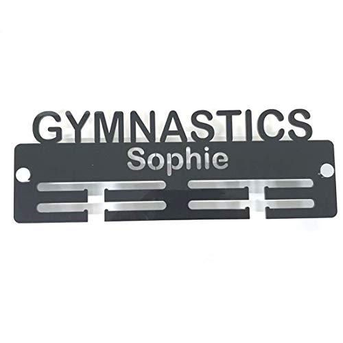 Servewell - Appendiabiti per medaglie con scritta'Gymnastics'