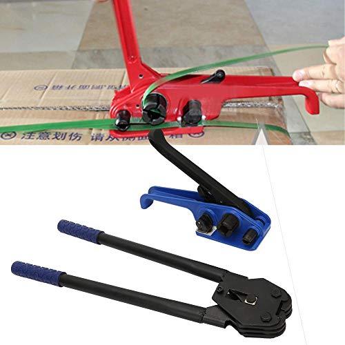 2 Piezas Manual Correa de Acero Tensor Prensador Cinturones Flejadora Herramienta de Bandas Máquina de Embalaje