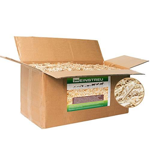 Jumbogras® Rindenmulch-Alternative: Garten-Mulch aus Miscanthus/Chinagras/Elefantengras-Häcksel für Pflegeleichte Gärten/Gartengestaltung/Gartenpflege