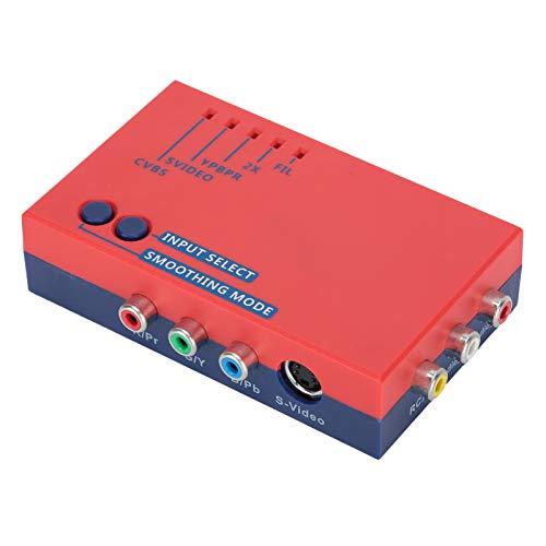 Dilwe Hochauflösender Konverter, 240p/480i/288p/576i ntsc/pal-Quellkonverter auf 480p/576p HDMI-Ausgang, für RetroScaler2x Line Multiplier/ODV-Versionen OSSC 100-240V