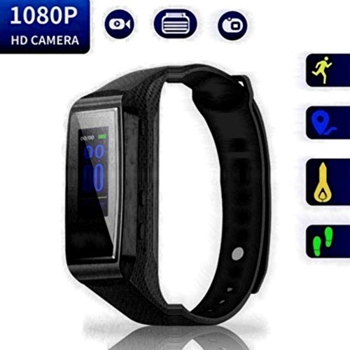 Hidden Camera Bracelet HD Mini Camcorder - Larger Display Version Spy...