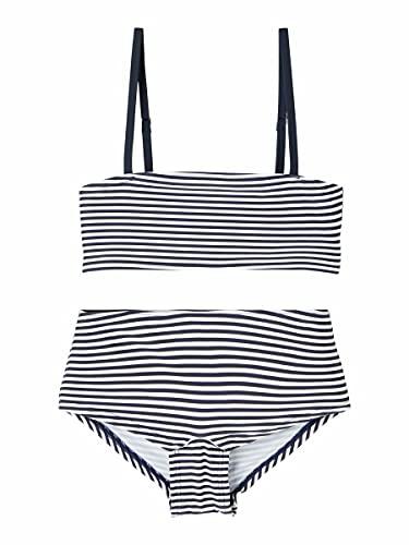 NAME IT Limited by Girl Bikini Gestreift 158-164Dark Sapphire