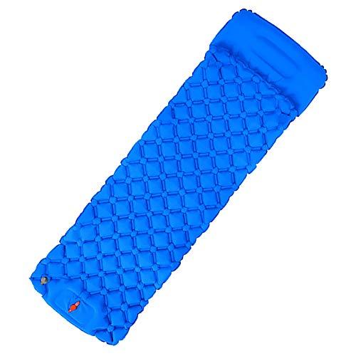 Muium(TM) Colchoneta hinchable para dormir, ultraligera, para exteriores, a prueba de humedad, para senderismo, mochileros, camping, playa, picnic, barbacoa, playa, viajes