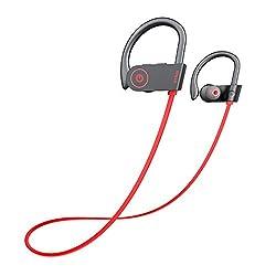 Amazon Com Otium Bluetooth Headphones Best Wireless Earbuds Ipx7 Waterproof Sports Earphones W Mic Hd Stereo Sweatproof In Ear Earbuds Gym Running Workout 8 Hour Battery Noise Cancelling Headsets Electronics