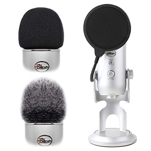 2pcs Professional Microphone Furry Windscreen...