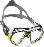 Cressi Air - Máscara unisex, color amarillo/negro, talla única