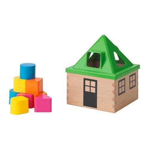 Ikea Caja de madera y plástico para rompecabezas de Mula
