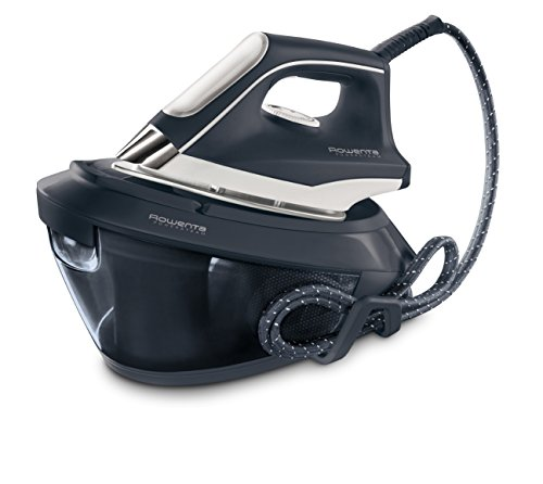 Rowenta VR8220F0 Powersteam - Centro planchado 6,5 bares de presión de agua autonomía ilimitada, golpe de vapor 350 g/min, vapor continuo 120 g/min, autoapagado, cartucho antical, rápido calentamiento