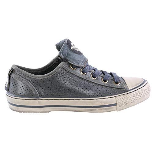 Matchless Damen Leder Sneaker Schuhe WATTS Vent British Green 142020 Größe 37