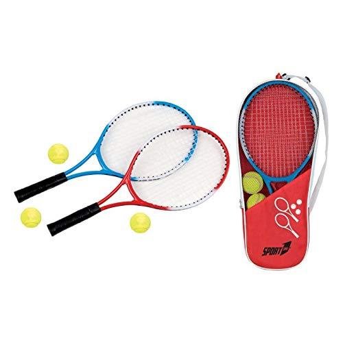 Racchette Tennis Bambini Adulto Spiaggia Bambini 10 Anni Gioco Principianti 2 Racchette 3 Palline