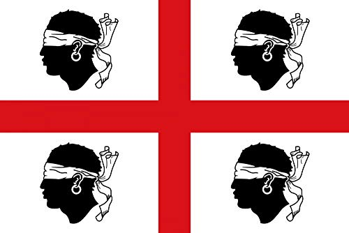 zambiasi Bandiera 4 Mori Sardegna 150x90cm