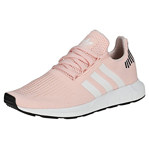 adidas Swift Run W, Zapatillas Mujer, Rosa (Ice Pink/Footwear White/Core Black 0), 37 1/3 EU