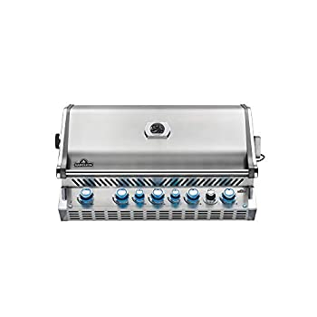 Napoleon Grills Built-in Prestige PRO 665 with Infrared Rear Burner Stainless Steel Propane Grill