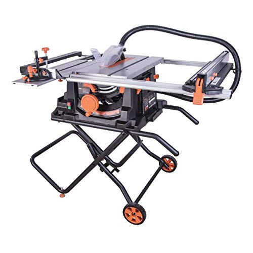 Evolution Power Tools 057-0003 Sierra de mesa multimaterial Rage 5-S, 1500 W, 230 V, 255 mm