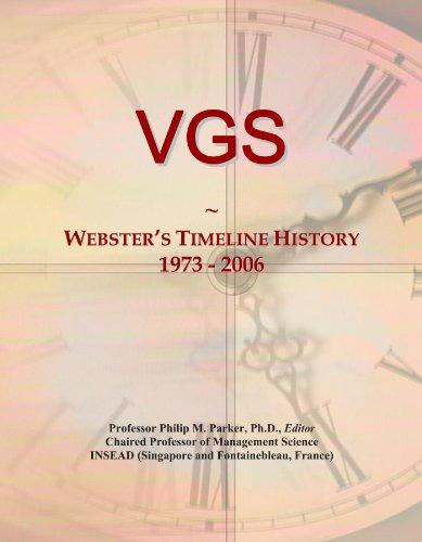 VGS: Webster's Timeline History, 1973 - 2006