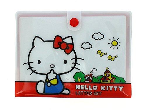 Hello Kitty Vintage Mini juego de escritura