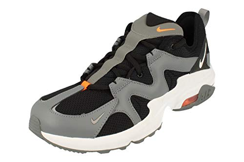Nike Air MAX Graviton, Zapatillas de Running para Hombre, Negro (Black/White/Cool Grey/Total Orange 002), 44.5 EU