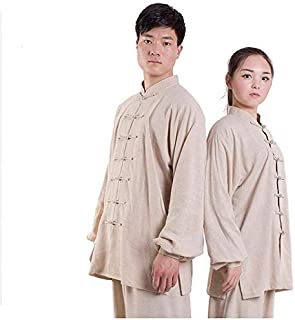 Tai Chi Clothing Martial Arts Uniforms Tai Chi Uniform Clothing, Unisex Chinese Traditional Qi Gong Martial Arts Wing Chun...