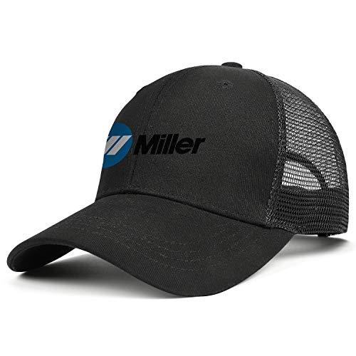 Men Miller-Electric- Baseball Caps Classic Adjustable Trucker Hats Flat Caps