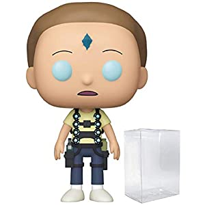 Funko Pop Morty en cristal de la muerte (Rick & Morty 660) Funko Pop Rick & Morty