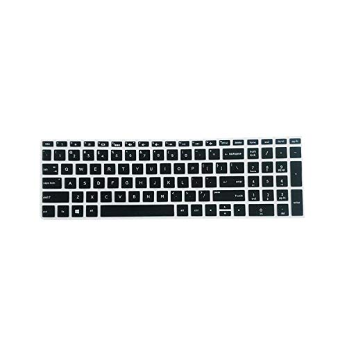 Keyboard 2020 Invisible Keyboard Protector Skin Cover For Hp 15.6 Inch Bf Laptop Pc Notebook Laptop Super Soft Silicone-Black-