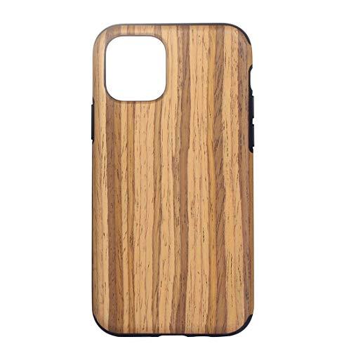 Mobiel DFDA Houtstructuur TPU Beschermhoes For De IPhone 11 Pro (Rosewood) Shockproof (Color : Teak)