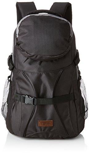 Rookie Bag Skatepack, Mochila Unisex Adulto, Negro (Black), 15x17x25 cm