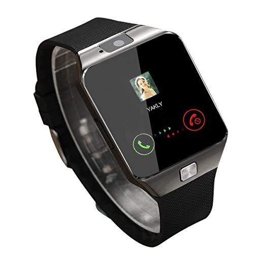 Smart Watch Dz09 Gold Silber Smartwatch Uhren für iOS für Android SIM Card Camera Watch - Schwarz
