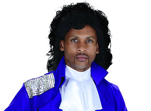 UNDERWRAPS Unisex Pop Star Wig Black