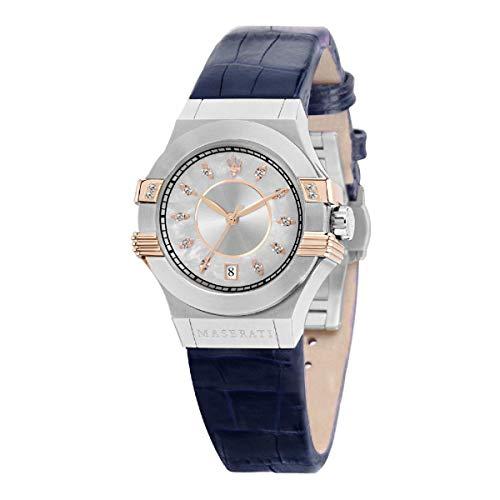Reloj para Mujer, Colección Potenza, en Acero, Cuero - R8851108502