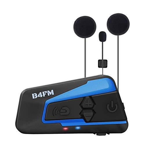 インカム B4FM バイク インカム 4riders 最大4人同時通話 Bluetooth3.0 互換性持つ BTヘッドセット インターコム 防水 インカム バイク HI-FI音質 連続使用15時間 Siri/S-voice バイク無線機 バイク用インカム ワイヤレス 2種類マイク 日本語 技適認証済み(1機セット)
