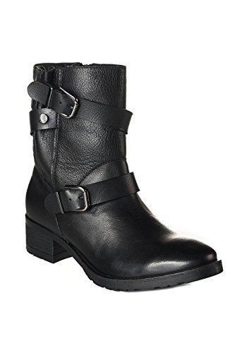 Salsa Biker Stiefel schwarz 113313, Schwarz - Schwarz - Größe: 37 EU
