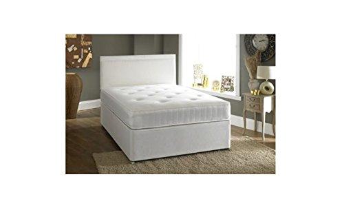 Confianza Camas Doble 4ft 6Cama con canapé Incluye 2cajones Ortho colchón y Entrega Gratuita a Reino Unido Continental